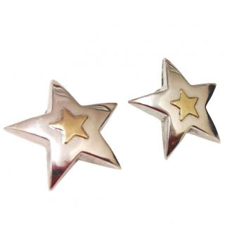 Bucciarelli star-stud gold earrings