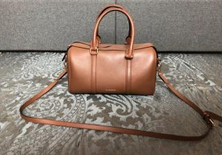 Burberry Brown Alchester Armour Bowling Bag