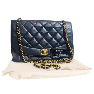 Chanel Black Quilted Leather Timeless Bag