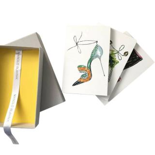Manolo Blahnik Illustrated Notebook Set
