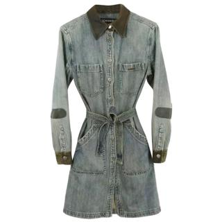 Chanel Denim Shirt Dress