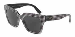 Dolce & Gabbana Houndstooth Sunglasses