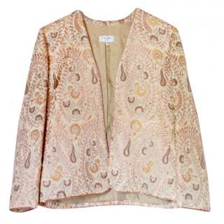 Celine paisley brocade jacket