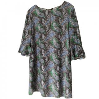 Elizabeth and James paisley-print dress