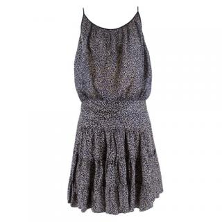 Balenciaga Floral Devore-Silk Skirt & Top