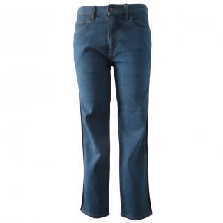 Gucci Tailored Web Stripe Trim Jeans