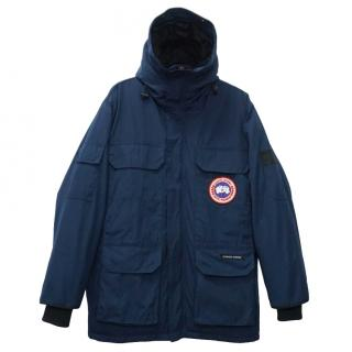 Canada Goose Men's Blue Goose Down Expedition Parka