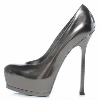 Yves Saint Laurent Anthracite Tribtoo Pumps