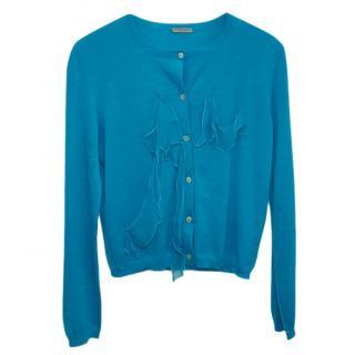 Bottega Veneta Turquoise Cardigan
