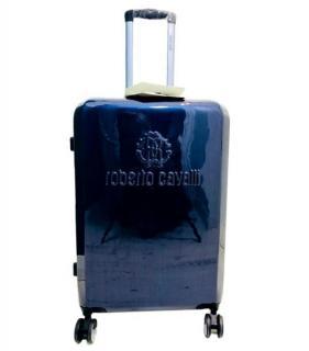 Roberto Cavalli Blue Cabin Case Suitcase