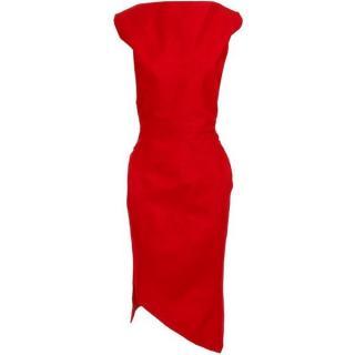 RM Roland Mouret Piaf Silk Dress