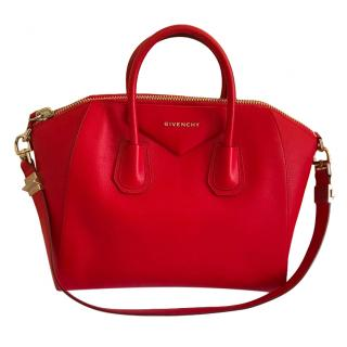 Givenchy Large Red Antigona Tote