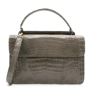 Nancy Gonzalez Medium Sophie Crocodile Leather Bag