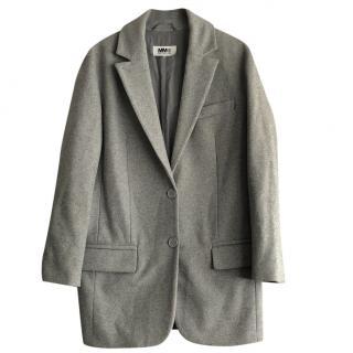 MM6 Maison Margiela Grey Wool Jacket