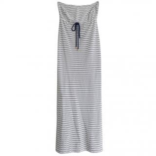 Heidi Klein Striped Strapless Maxi Dress
