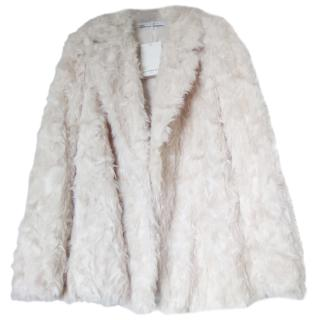 Givenchy Cashmere Faux Shearling Coat