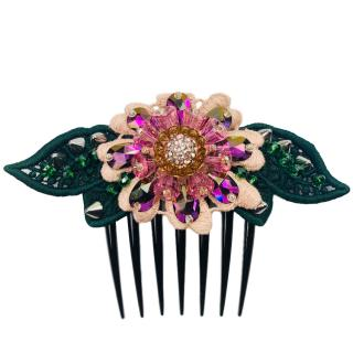 Dolce & Gabbana Crystal Embellished Hair Comb