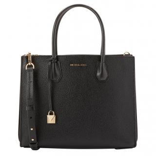 Michael Michael Kors Black Mercer Tote Bag