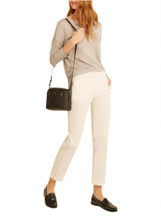 Gerard Darel Molly Ecru Trousers