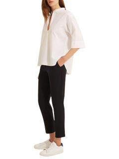 Gerard Darel Navy Martina Trousers