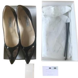 Jimmy Choo Black Frasier Pumps
