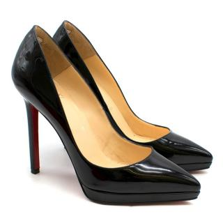 Christian Louboutin Black Pigalle Plato 120mm Pumps
