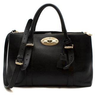 Mulberry Bayswater Leather Small Double Zip Tote Bag