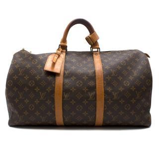 Louis Vuitton Keepall 50 Bandouliere bag
