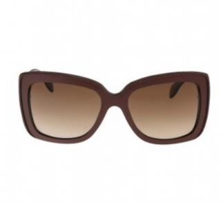Alexander McQueen 4218/S N3D Square Sunglasses