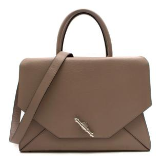 Givenchy Medium Taupe Obsedia Satchel