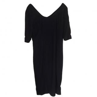 Amanda Wakeley navy Shift Dress
