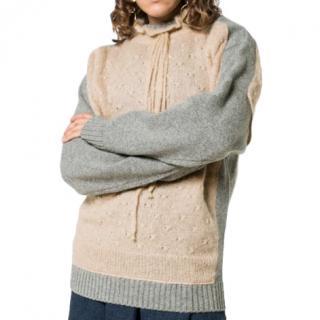 c607ad8f09db78 JW Anderson nude trompe l'oeil knit jumper