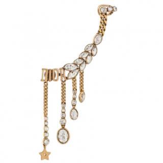 Dior Dio(r)evolution Crystal Chain Earrings