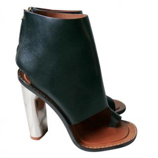 Celine Bam Bam Cut-Away Booties