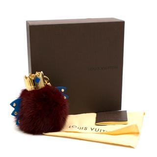 Louis Vuitton Totem Fur Key Ring & Bag Charm