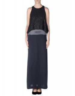 Brunello Cucinelli Silk & Cashmere Embellished Gown