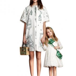 Dolce & Gabbana Victorian Garden Print Jacquard Coat