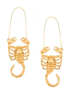 Givenchy scorpio zodiac earrings