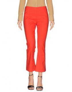 Vivetta Red Stretch Cotton Pants