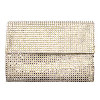 Gina Crystal Embellished Mini Chain Bag