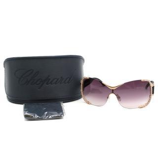 Chopard Limited Edition Crystal Shield Sunglasses