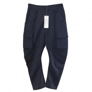 Marni Navy Cropped Trousers.