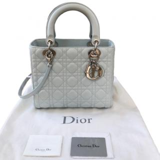 Dior Pale Blue Medium Lady Dior Bag