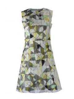 Roksanda A-Line Silk Printed Mini Dress
