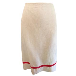 Paul Smith Linen Wrap Skirt