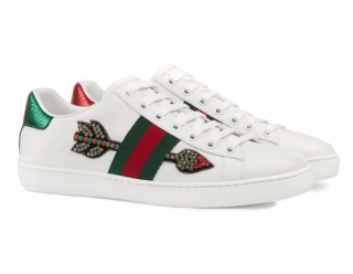 Gucci Ace arrow embroidered sneakers