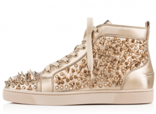 Christian Louboutin Metallic Louis Pik Pik Trainers