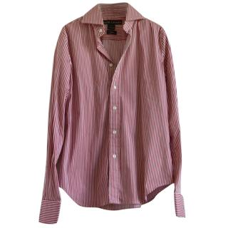 Ralph Lauren Red & White Striped Shirt