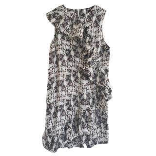 Thomas Wylde Ruffled Mini Dress