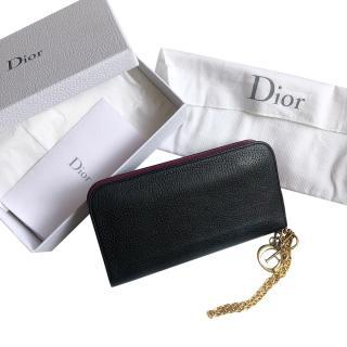 Dior Black & Pink Voyager Wallet